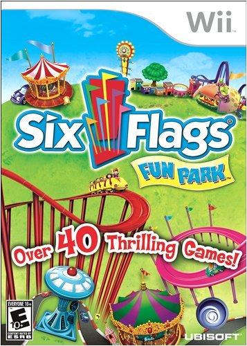 Six Flags Fun Park - Nintendo Wii (Wii Games Fun)