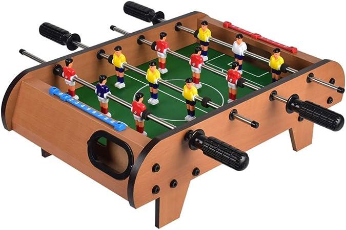 Mesa de futbolín Mini Mesa futbolín for Adultos y niños Mesa de futbolín/Juego de fútbol recreativo portátil de Mano Fútbol Futbolín Tabla de futbolín para Adultos y niños: Amazon.es: Hogar