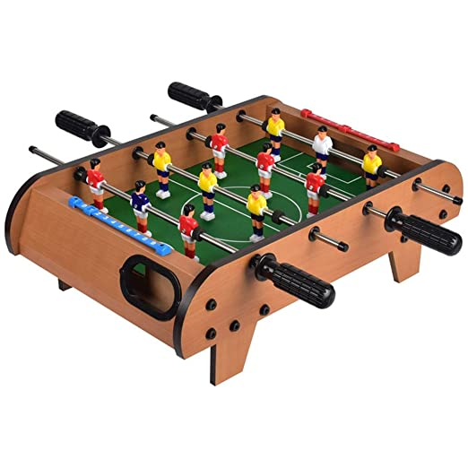 Mesa de futbolín Mini Mesa futbolín for Adultos y niños Mesa de ...