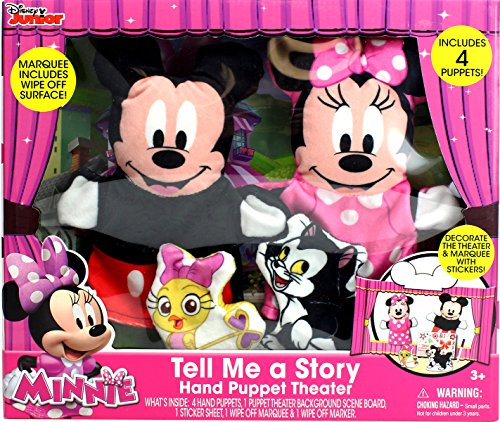 Tara Toy Minnie & Mickey Tell Me a Story Hand Puppet Theater (8 ()