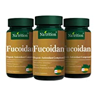 Na'trition Fucoidan Natural Organic Anioxidant Compound Capsules - 120 Veggie Capsules