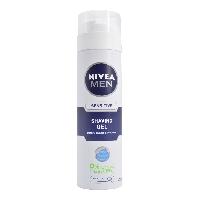 Nivea Men Sensitive Shaving Gel, 200ml 100696076
