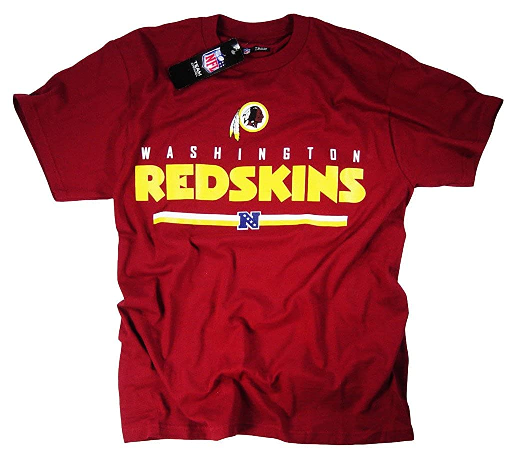 Washington Redskins camiseta ropa Apparel producto oficial de la NFL team logo por el fútbol de la Liga unisex color Rojo - rosso tamaño mediano