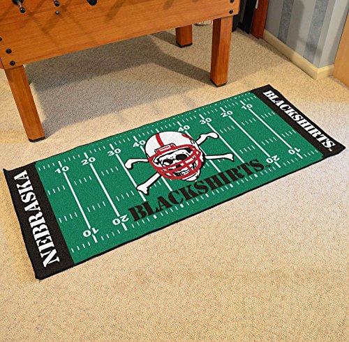 Fan Mats 10342 NU - University of Nebraska Blackshirts 30