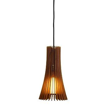 madera de • • 100Cereza Lampara de techo Lampara abedul N8nwvm0O