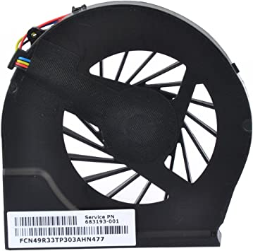 Original CPU Cooling Fan for HP Pavilion g7-2294nr g7-2295nr g7-2296nr g7-2286nr
