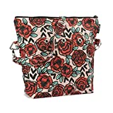 Yarn Pop Totable Knitting Bag - Rose Tattoo