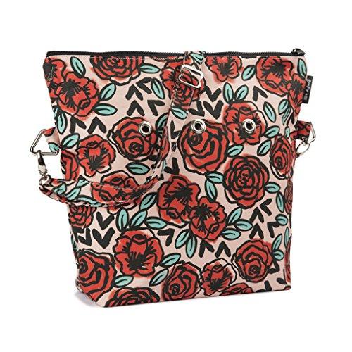 Yarn Pop Totable Knitting Bag - Rose Tattoo by Yarn Pop
