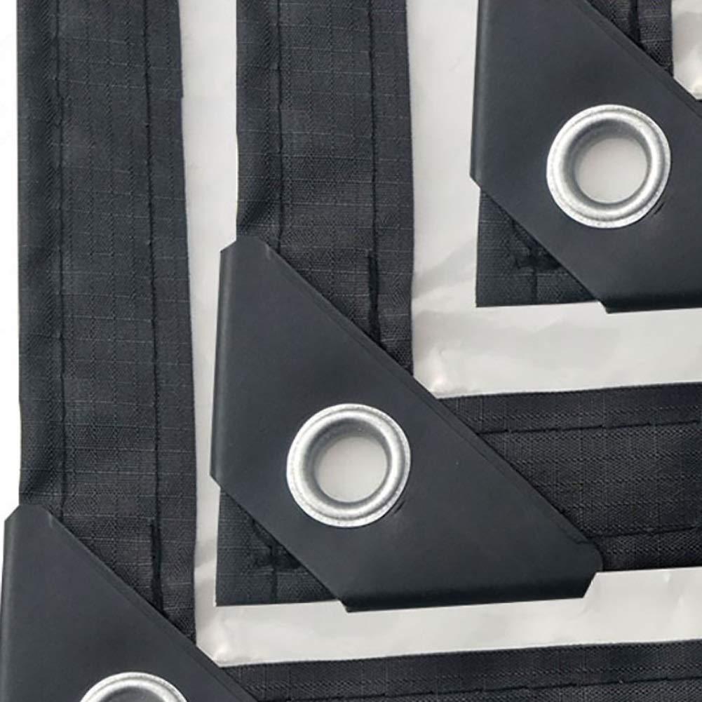 6m Spessore 0,13 mm,3 M-Y-L TeloTelone Trasparente Copertura per impieghi gravosi Pellicola di plastica Antipioggia in polietilene Anti-invecchiamento PE