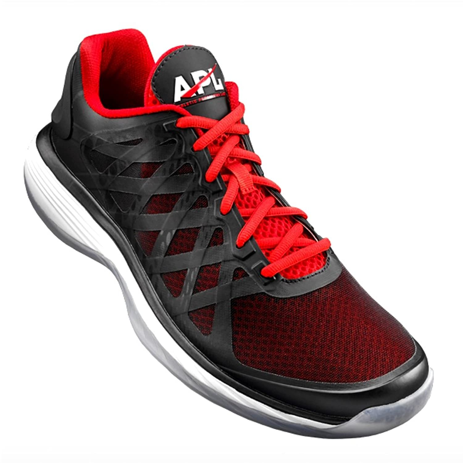 Athletic Propulsion Labs Men's Vision Low Black/Red Basketball Shoe