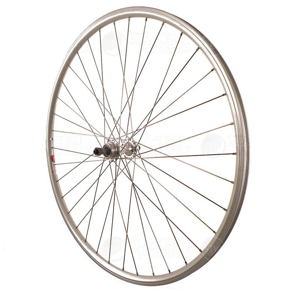Sta-Tru Silver ST725 36H Rim Rear Wheel (700X25)