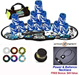 Speed Stacks Combo Set ''The Works'': 12 ATOMIC PUNCH 4'' Cups, REBEL MUDD Gen 3 Mat, G4 Pro Timer, Cup Keeper, Stem, Gear Bag, 6 Snap Tops + Active Energy Necklace