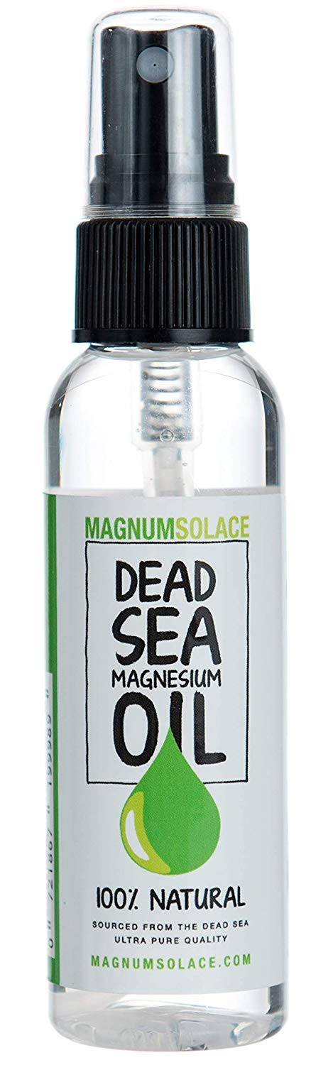 MAGNESIUM OIL 100% PURE NATURAL Dead Sea Minerals - Exceptional #1 Source - Made in the USA (2 oz) : Beauty