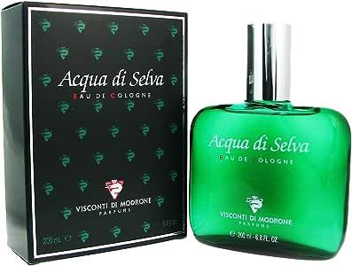 Visconti Di Modrone Aqua De Selva for Men 6.8 oz. EDC Splash, 200 ml