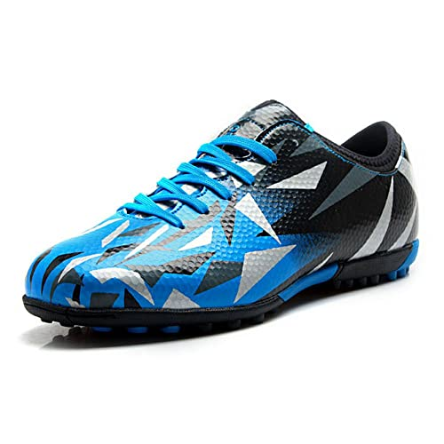 6f3a88089 Tiebao Boys Men s Profession Football Shoes For Hard Ground Big Size  Available Blue S76516 Kids US1