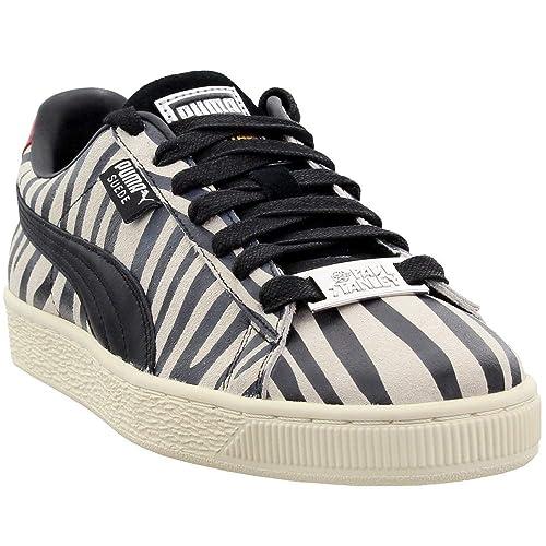 promo code 704f7 ed7ba PUMA Mens Suede Classic X Paul Stanley Casual Sneakers,