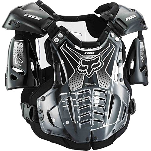 Fox Racing Airframe Men's Roost Deflector Off-Road Motorcycle Body Armor - Black/Large