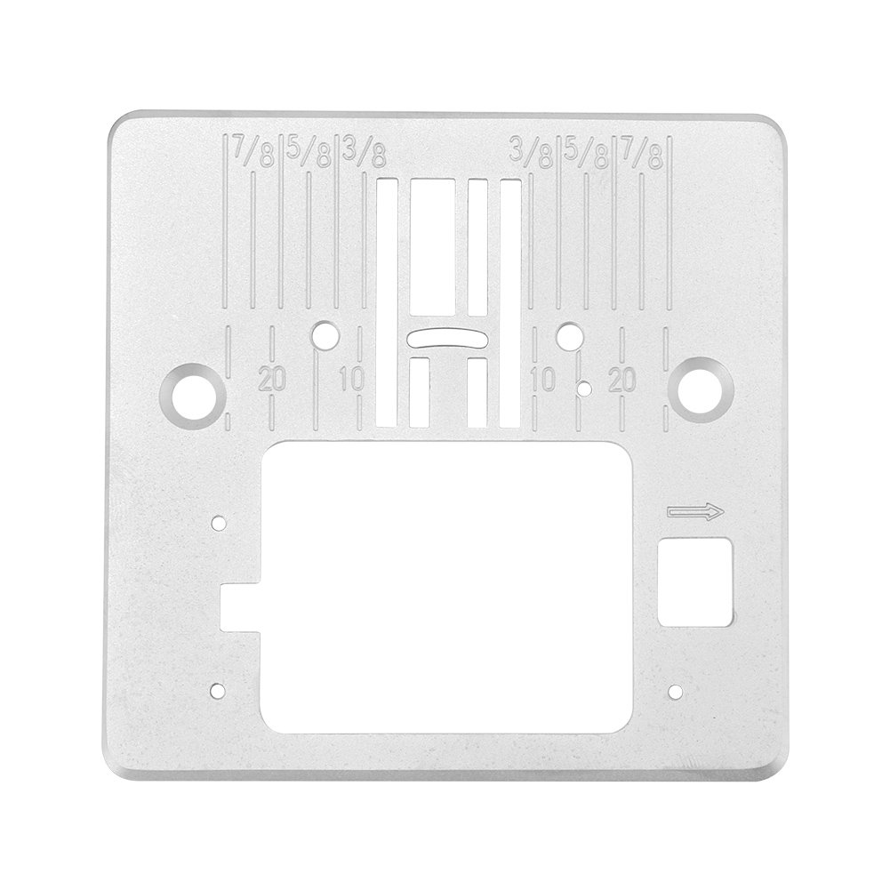 Home Sewing Machine Accessories Needle Throat Plate Q60D for Singer 4423 4432 5511 Wal front
