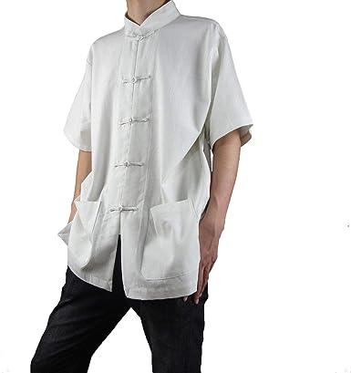 100% Algodón Blanco Camiseta de Kung Fu Artes Marciales Tai Chi XS-XL o Hecho a Medida #124: Amazon.es: Ropa y accesorios