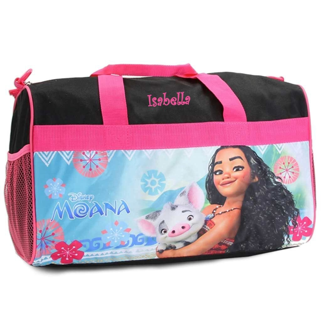Personalized Licensed Kids Travel Duffel Bag - 18'' (Moana) by DIBSIES Personalization Station (Image #1)