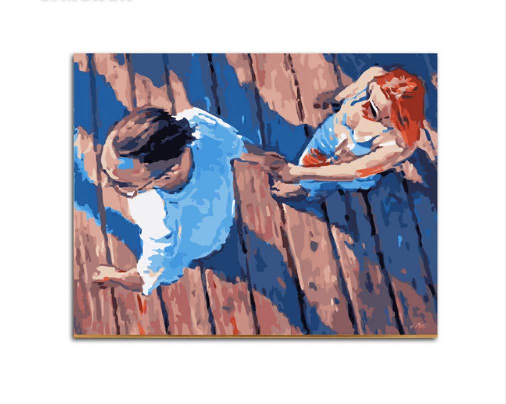 XIGZI Tiere Adler DIY malerei by Zahlen Bild malerei auf leinwand malerei by Zahlen für Haus wanddekoration 40x50 cm,Mit Holzrahmen,I B07NYFCZTL | Große Auswahl