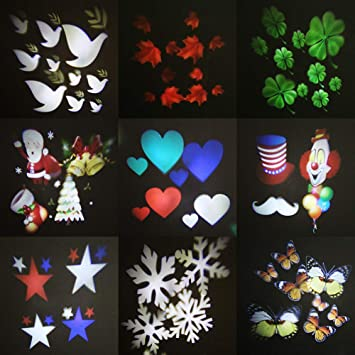 Decoración navideña Luz de Noche al Aire Libre Luces de ...