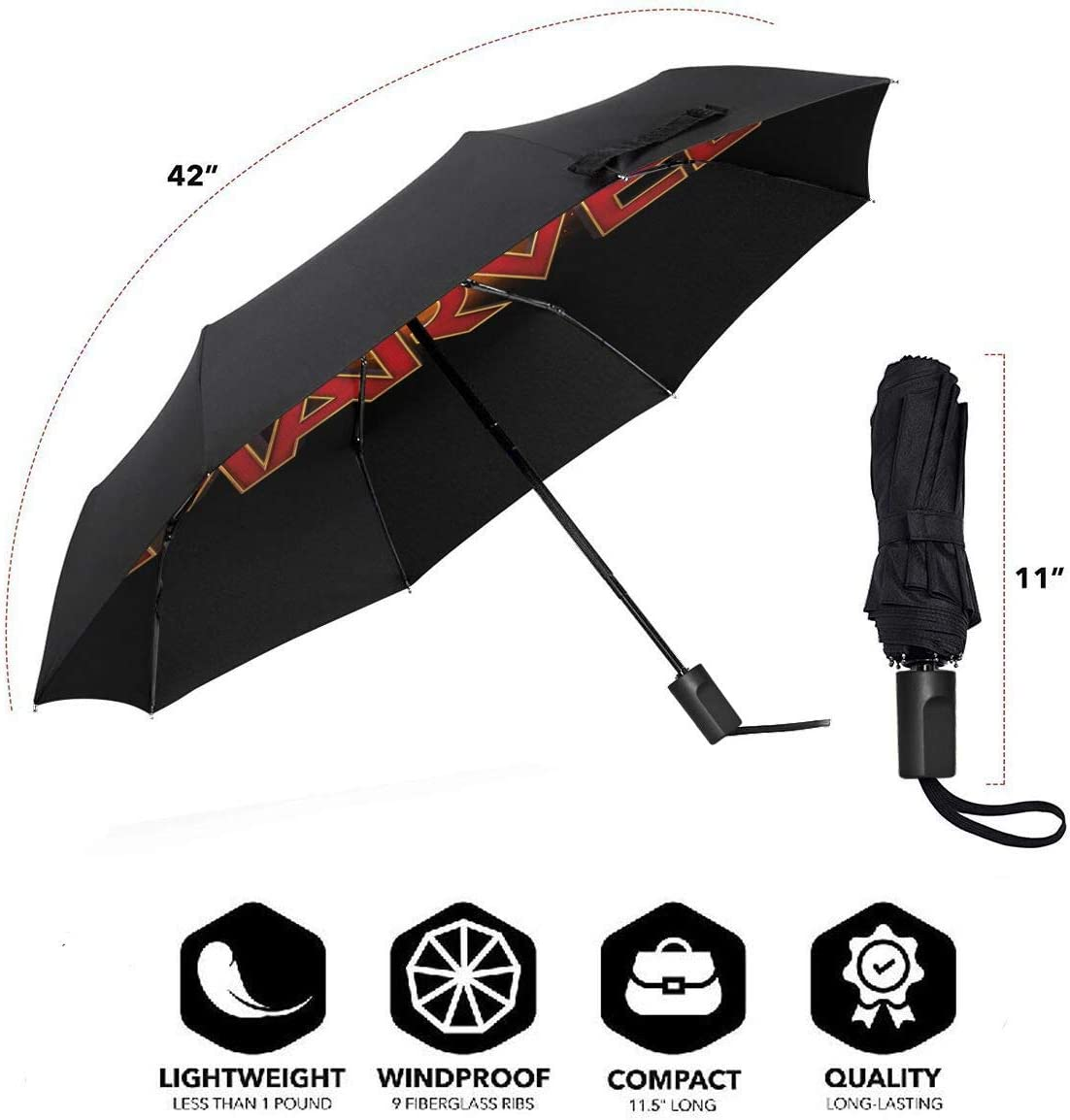 So-nic The Hedgehog Reverse Windproof Umbrella UV Protection Upside Down Umbrella Double Layer Inverted Umbrella With C-Shaped Handle
