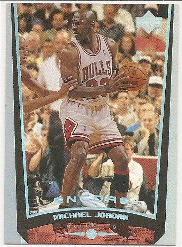 Michael Jordan 1998-99 Upper Deck Encore Chicago Bulls Card #109