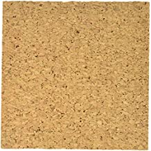 Dooley Mini Cork Tiles, 6 X 6-Inch, Pack of 4, Brown (606COTL-4)