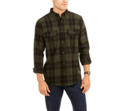 black and green long sleeve shirt
