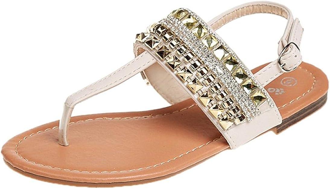 LUCKYCAT Amazon, Sandales d'été Femme Chaussures de Été