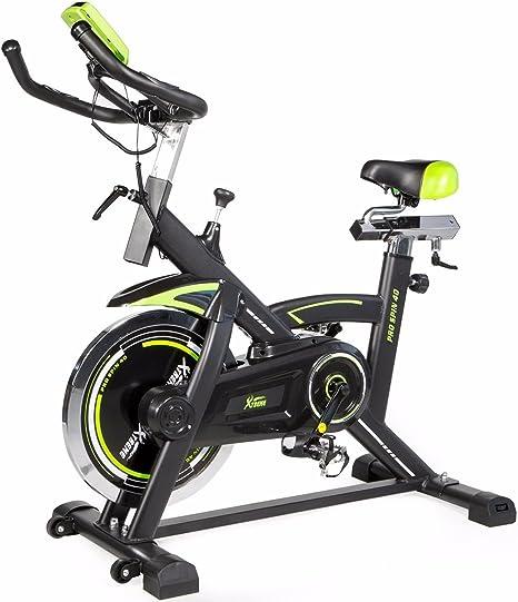 Pro bicicleta estática Fitness parado Spinning Cardio interior ...