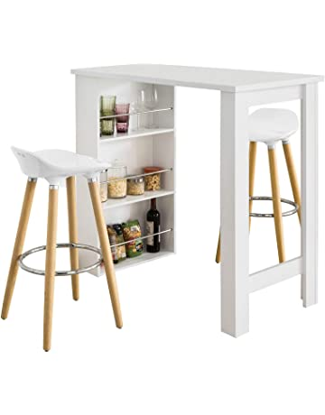 Tavolo Con Sgabelli Ikea.Amazon It Tavoli Da Bar Per La Casa