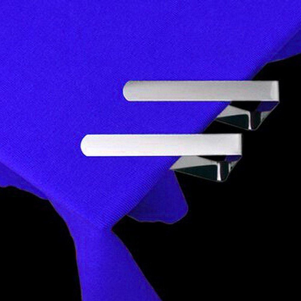 Confezione da 12 pezzi Clip da tovaglia clip da tavolo in acciaio inox Sicai Morsetti clip da tavolo Clip da tovaglia