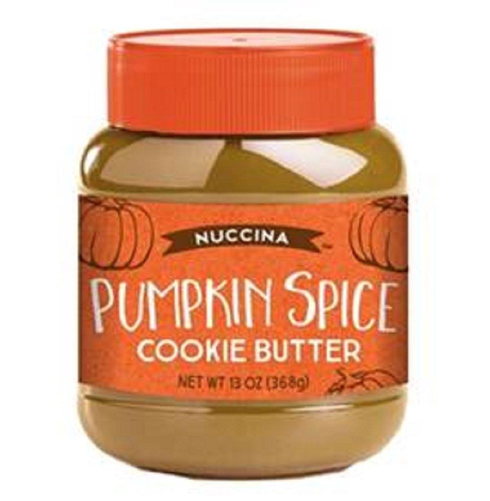Nuccina Pumpkin Spice Cookie Butter ~ 13 oz