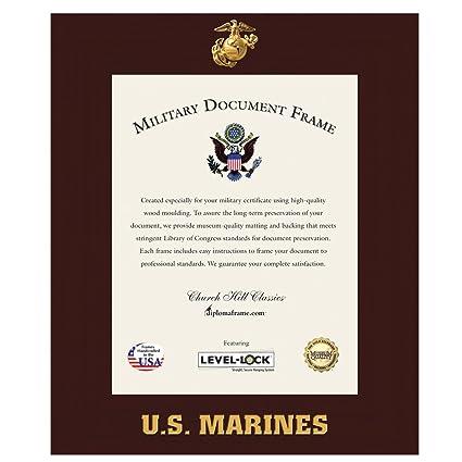 Amazon.com - US Marine Corps Certificate Frame / Photo Frame - Wall ...
