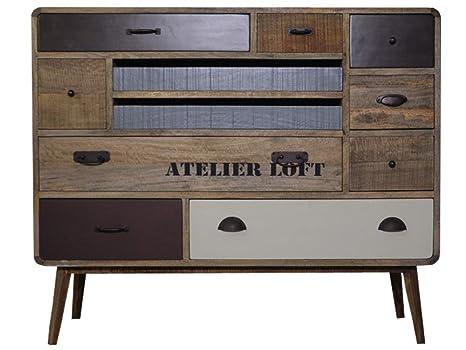 Credenza Vintage Da Cucina : Antyki24 cassettiera credenza armadietto in legno vintage francese