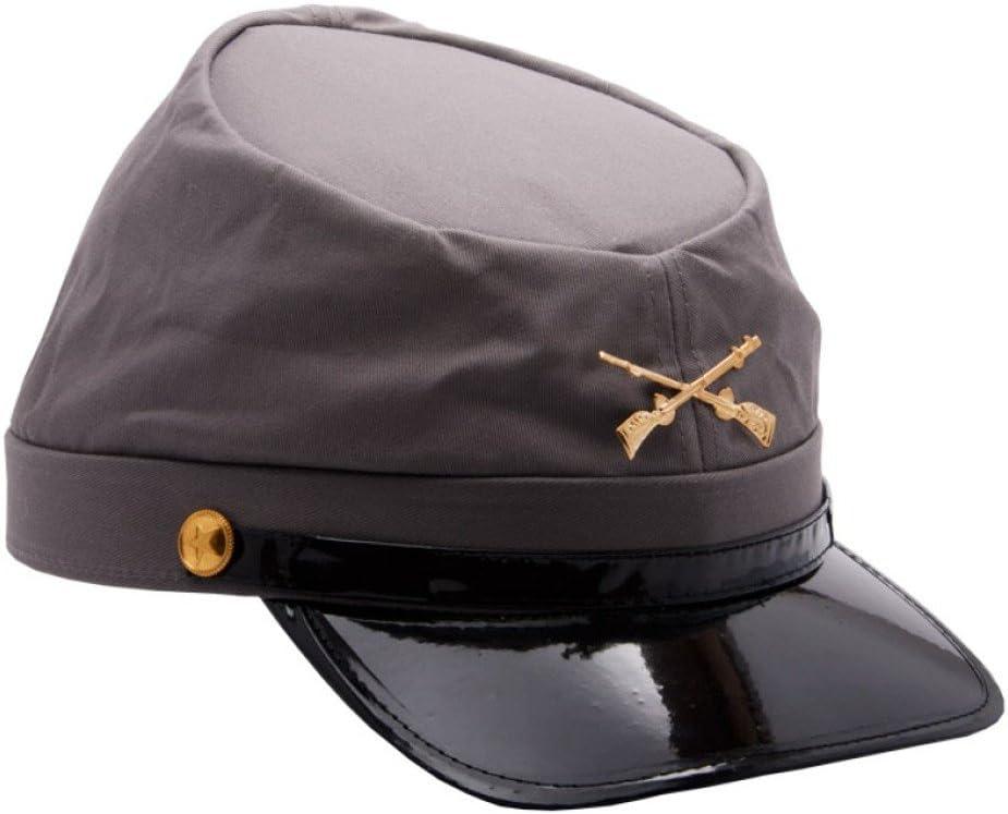 MyPartyShirt Gorra de soldado confederado del ejército de la ...