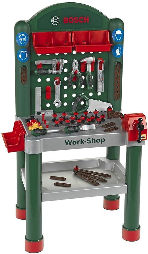 Spielzeug Werkbank mit 35 mini Spielwerkzeugen Werkzeuge & Werkbänke