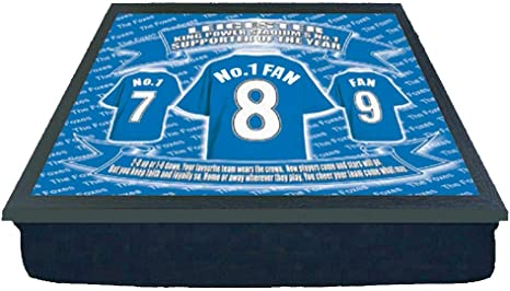 Leicester City Football Shirt Lap Tray Gift