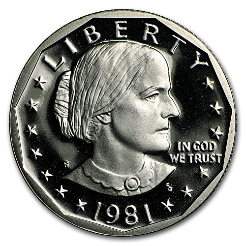 1981 S -S SBA Gem Proof (Type-2) Collection Brilliant Uncirculated