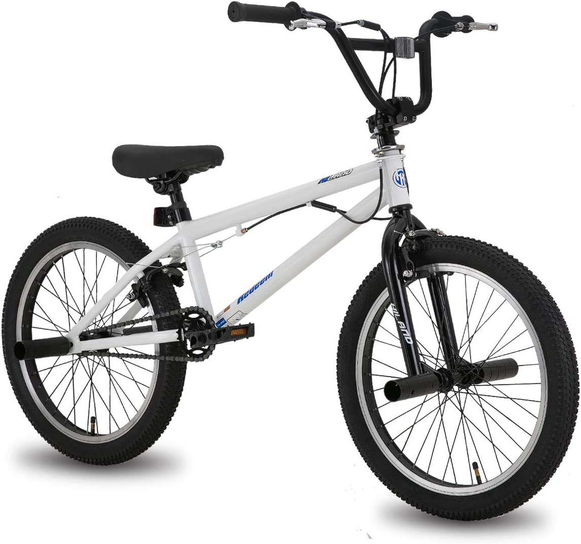 Hiland 20 Inch BMX Freestyle Performance Bike