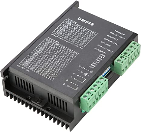 Anti-interference Two-phase Stepper Motor Driver with 32 DSP Technology DM542
