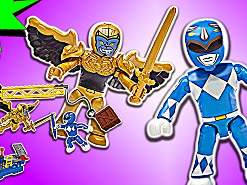 Clip: Blue Ranger Battle