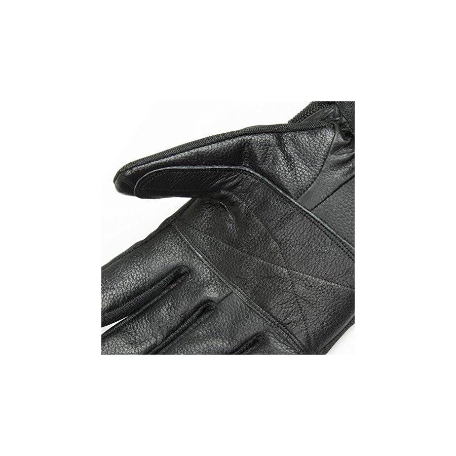 Raider Graphite Black Snow Gloves