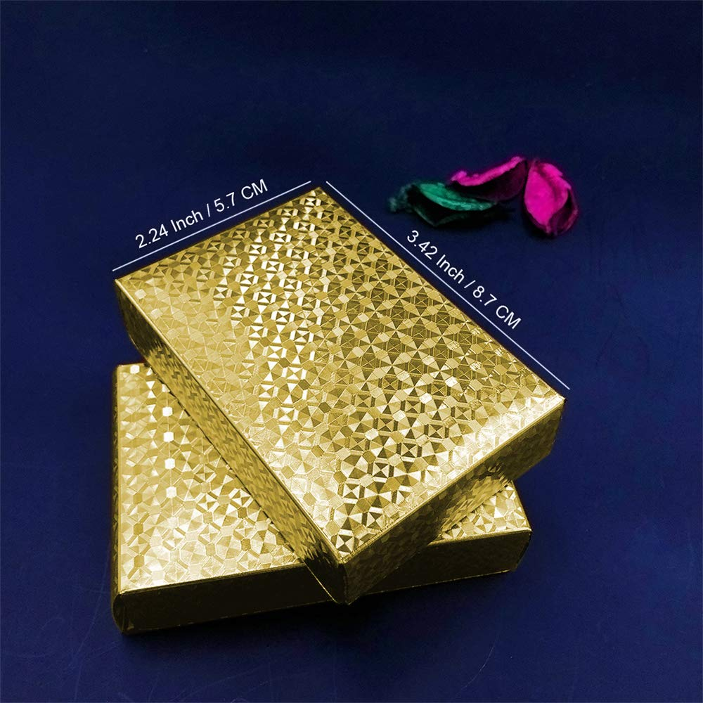 Classic Magic Tricks Tool JumpyFire Luxury 24K Gold Foil Playing Cards 2 Pack Gold-Plated Waterproof Poker Cards for Table Game