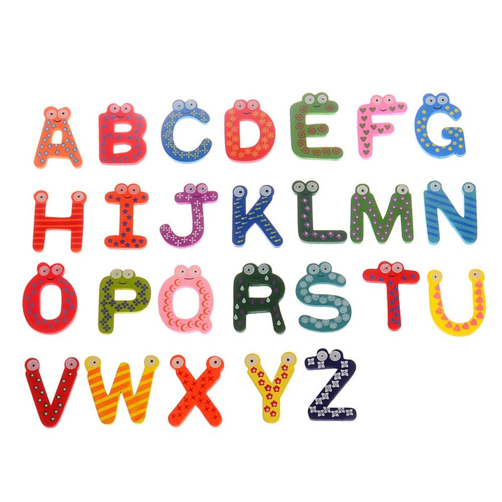Magnetbuchstaben Kühlschrank Aufkleber, Alphabet, 26Capital Früherziehung Magnetbuchstaben für Baby Kleinkind Kids Learning Spielzeug, Best Alphabet Magnete für Kühlschrank, Fun. CTGVH