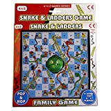 Pop & Hop Snakes and Ladders Game