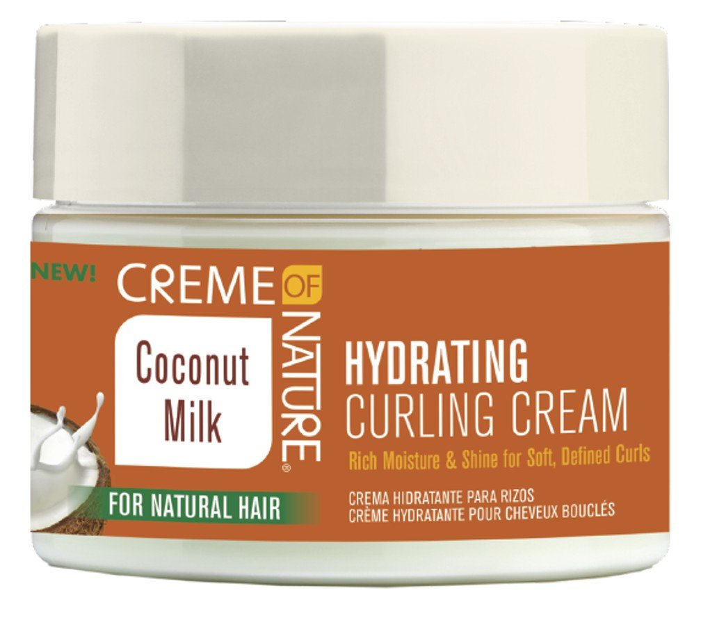 Creme Of Nature Coconut Milk Hydrating Curling Cream 11.5 Ounce (340ml) (3 Pack)