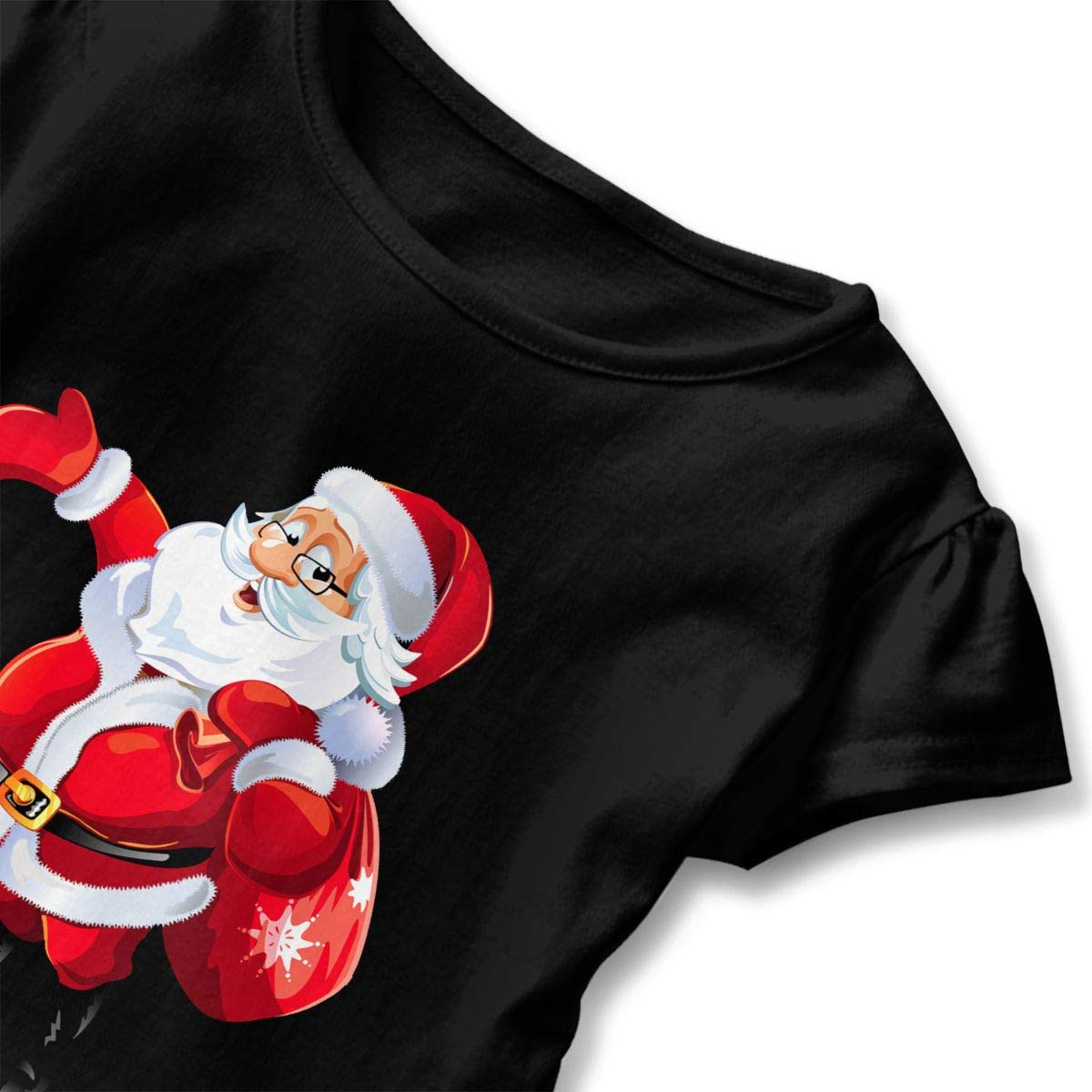 Happy-girl Ye Santa Claus Outdoor Lover Short-Sleeve Tunic T-Shirt